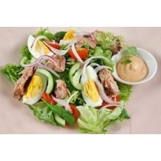 Salata cu ou si ton